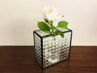 【受注制作品】*再販*花瓶・géométrique2(クリア)の画像