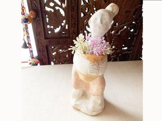 【オーダー】 花瓶フラワーポット全身像の画像