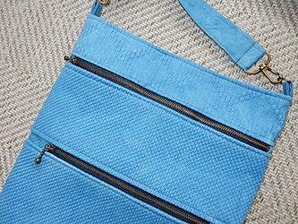 藍染 柔道着からショルダーバッグの画像
