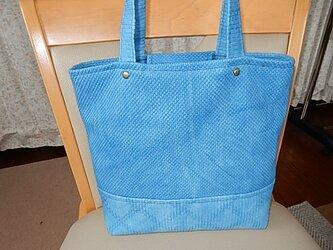 藍染 柔道着からトートバッグの画像