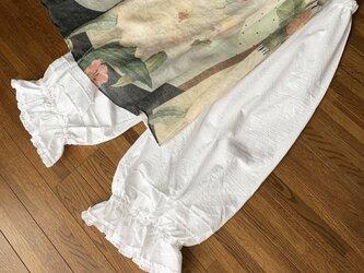 綿ワッシャーのペチパンツの画像