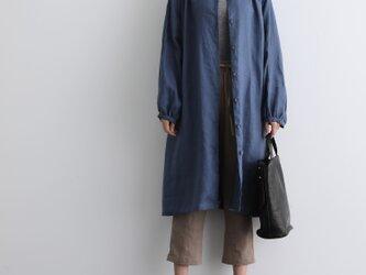 ふんわり着たい、秋色羽織り ワンピース ベルト付き 長袖ワンピース 三色200910-1の画像