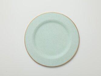 リム皿 ラウンド (グリーン)の画像