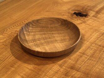 クリの皿の画像