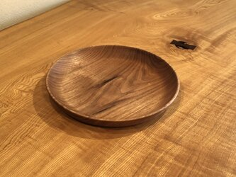 クルミの皿1の画像