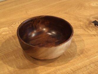 栃小鉢1 拭き漆仕上げの画像