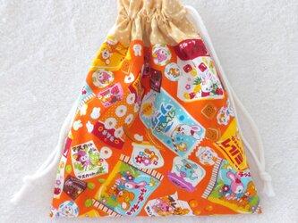 巾着袋   はいから横丁  駄菓子の画像