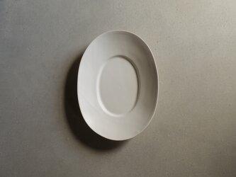 ワイドリムオーバル皿 Sの画像