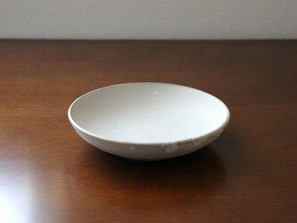 赤土と白マット釉のお皿 * 2の画像