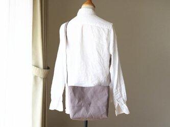 【受注製作】あずきミルク 倉敷産帆布使用ショルダーSの画像
