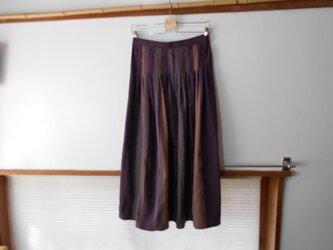 タイ木綿のスカートの画像