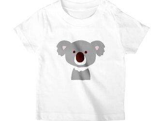 コアラ Tシャツ/カットソー キッズ フリーサイズ アパレル/アニマルモチーフの画像