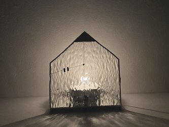ハウスキャンドルホルダーL //HOUSE CANDLE HOLDER・L /h-10の画像