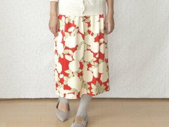 シンプルギャザースカートの画像