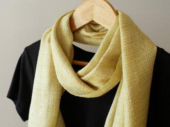 草木染め 手織りシルクストール ST29の画像