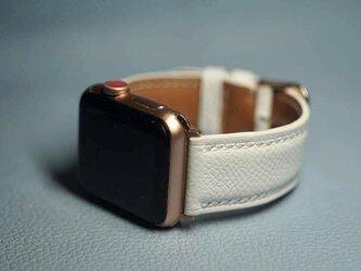 『高級革使用』イタリアモンタナ社製 本革 時計ベルト  アップルウォッチバンド 腕時計 革ベルト 皮 革の画像