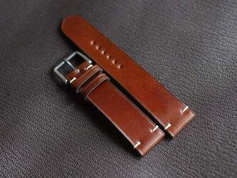 高級革 レザー使用時計ベルト メンズ時計ベルト 腕時計 皮 革 shell cordovanの画像