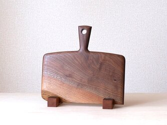 "CUTTING BOARD CB-09 "" BLACK WALNUT-1 ""の画像"