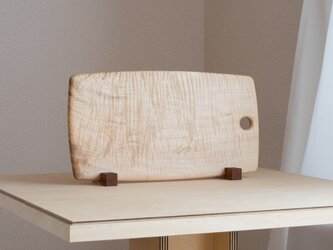 "CUTTING BOARD CB-08 "" R "" HORSE-CHESTNUTの画像"