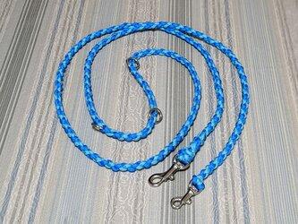 ベルト(腰巻き)リード(全長220cm) 中型、小型犬用  お揃いの首輪もありますの画像