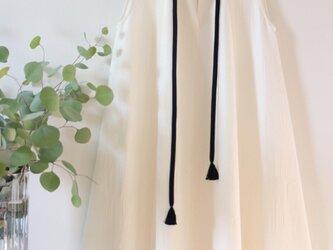 千歳織★着物正絹100% ノースリーブワンピース ★一枚限定の画像