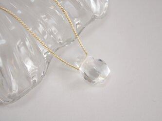 水晶のネックレス クリスタル 天然石の画像