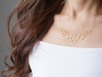 【Israel】14KGF Necklace,Abstract-006- の画像