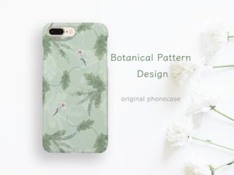 ボタニカルグリーンなスマホケースの画像
