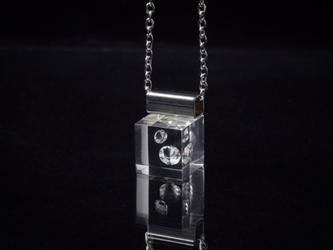 キュービックジルコニアのプチネックレス ステンレス(無料ギフトラッピング, 誕生日プレゼント, メッセージカード)の画像