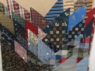 正絹西陣織ネクタイ地ハギレセット001の画像