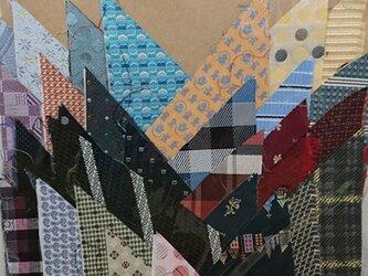 正絹西陣織ネクタイ地ハギレセット002の画像