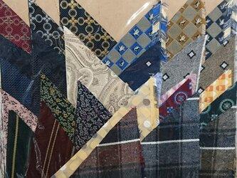 正絹西陣織ネクタイ地ハギレセット006の画像