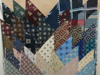 正絹西陣織ネクタイ地ハギレセット008の画像