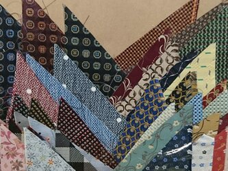 正絹西陣織ネクタイ地ハギレセット010の画像