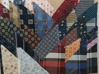 正絹西陣織ネクタイ地ハギレセット011の画像