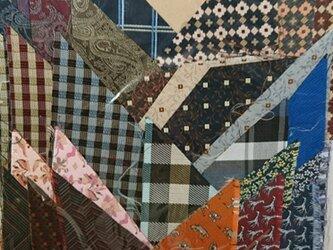 正絹西陣織ネクタイ地ハギレセット012の画像