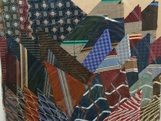 正絹西陣織ネクタイ地ハギレセット013の画像