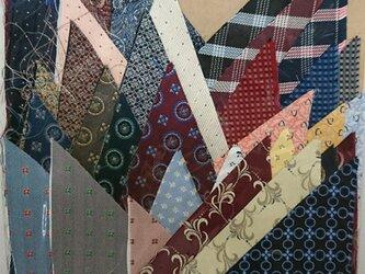 正絹西陣織ネクタイ地ハギレセット014の画像