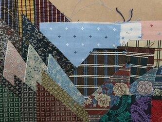 正絹西陣織ネクタイ地ハギレセット020の画像