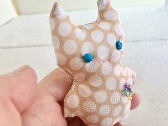 ブローチのネコ(6)の画像