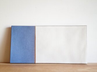plate blue Rigelの画像