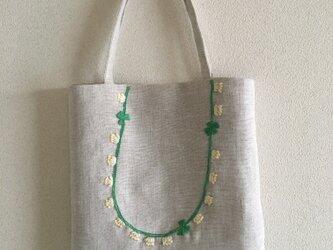 おさんぽバッグ 白詰草の首飾り(受注販売)の画像