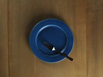 リムプレート6寸/青の画像