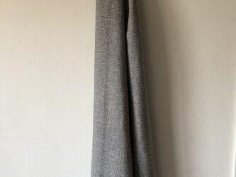 絹とウールのストールの画像