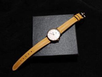 【新作】高級レザー使用時計ベルト エプソン レディース時計ベルト 腕時計 皮 革の画像