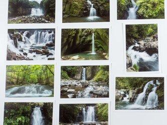 Lサイズの写真・南九州の滝がメインの風景11枚セット(L023)の画像