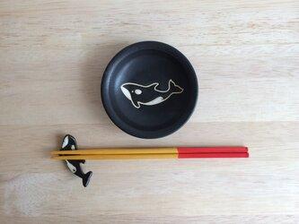 シャチ小皿の画像