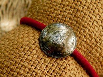 #H24 Switzerland Coin Hair Elasticの画像