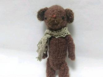編みぐるみ テディベアの画像