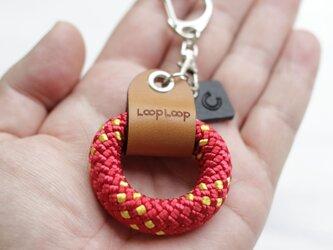 LOOP クライミングロープ フィンガーリング(レッド)の画像